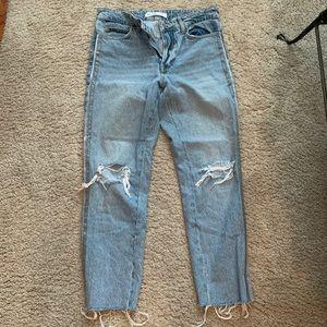 Zara Ribbon Detailed Jeans
